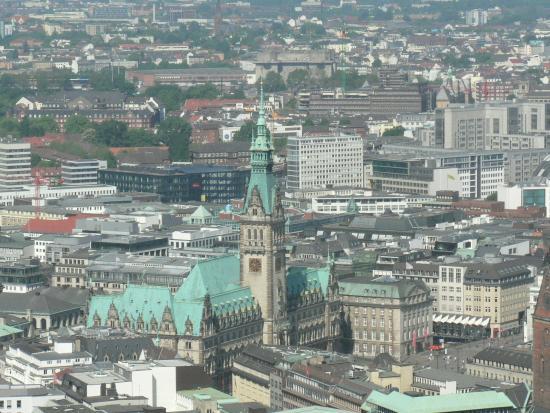 High Flyer Hamburg: 市庁舎