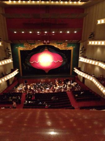 The Whiting: Main stage of Nutcracker from middle balcony!
