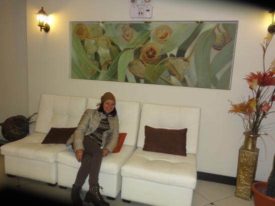 Hotel Qalasaya: Recepção Aconchegante!!!!