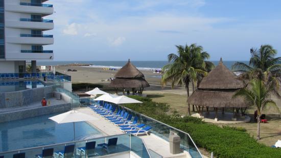 Hotel Las Américas Casa de Playa: Vista desde la habitacion