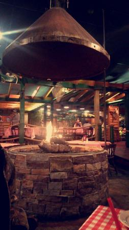 Caney Fork: Fireplace