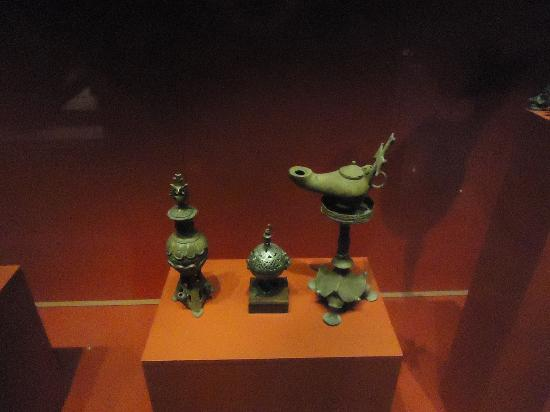 Museo Nubian: ancient household objects