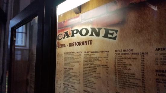 Al Capone: carte