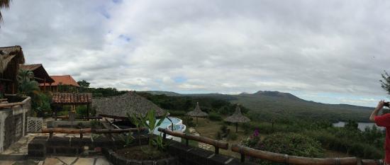 Hacienda Puerta Del Cielo Eco Spa: View from dining/bar/lounge
