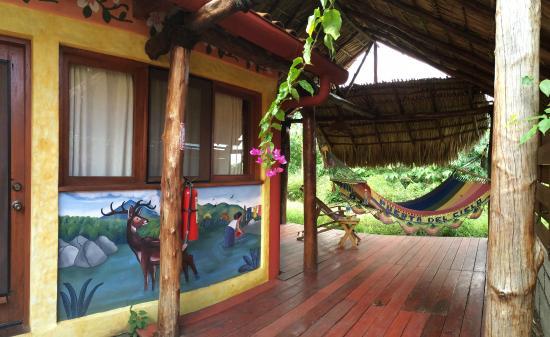 Hacienda Puerta Del Cielo Eco Spa: Our private deck