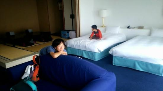 Hoshino Resorts RISONARE Atami: 部屋も広くて快適