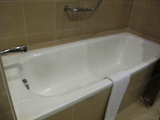 the long bathtub - Picture of The Katerina Hotel, Batu Pahat ...