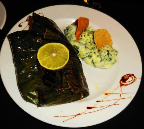 Mayan Bistro: Fish a la plancha