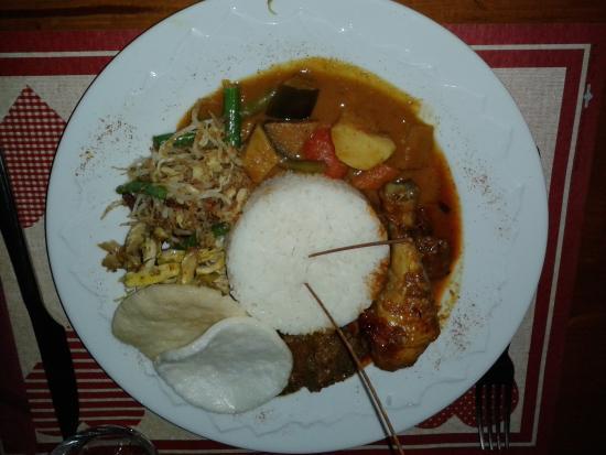 Le Kinabalu: plat