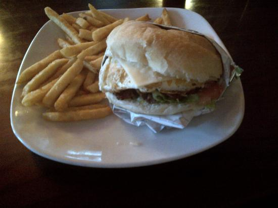 The Little Grille at the Depot: Brazilian Burger