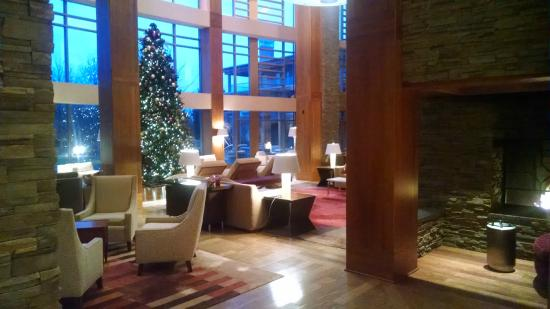 The Lodge at Turning Stone : The lobby
