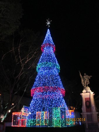 Howard Johnson Inn Downtown Mayaguez PR: Christmas at the Plaza