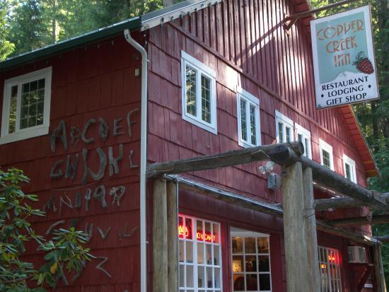 Copper Creek Inn Restaurant: Copper Creek Restaurant, Ashford, Wa.