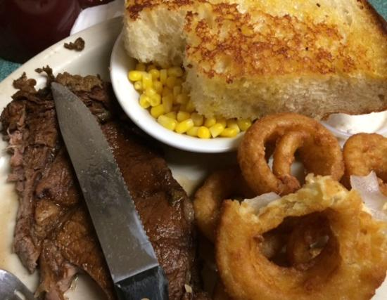Wendell, ID: Steak platter