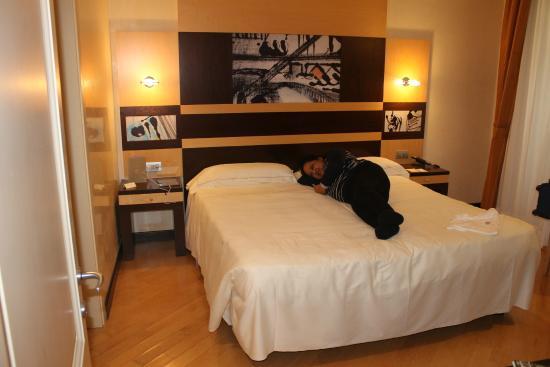 Hotel Degli Orafi: Master Bedroom