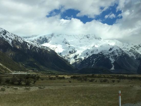 Aoraki/Mount Cook National Park DOC Visitor Centre: Beautiful Glacier