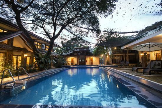 Palo Alto Bed & Breakfast: Pool Area