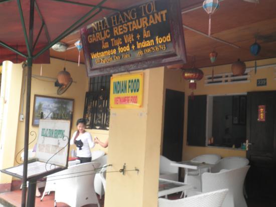 Garlic Restaurant Hoi An