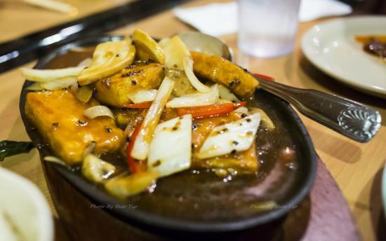 Lavender Cafe: Fried Tofu