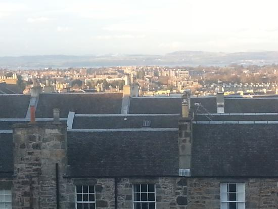 The Royal Scots Club: View from hotel - room 12
