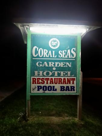 Coral Seas Garden: Outside