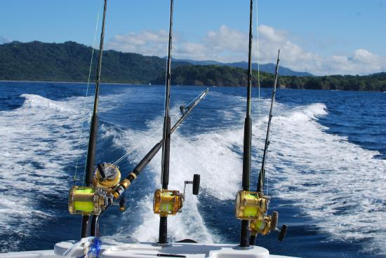 Kingfisher Sportfishing: Off we go!