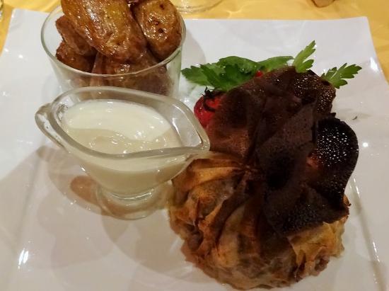 La Toute Petite Auberge : 鴨と茸の包み焼き・・・美味しかった!!
