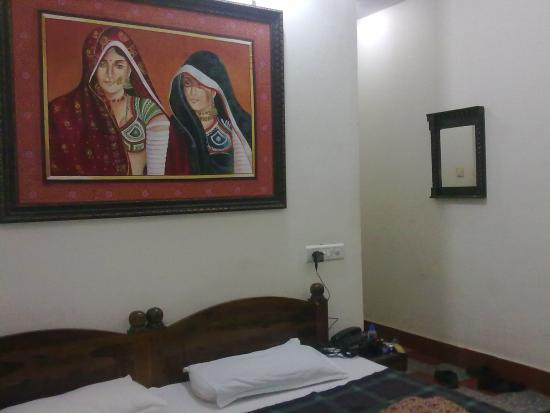 Hotel Teerth Palace: Inside our room
