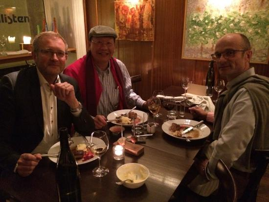 Sture: Dinner with Mats and Ulf