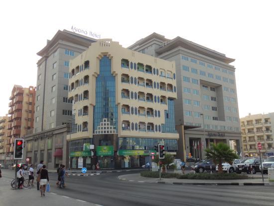 Asiana Hotel Dubai: Exterior