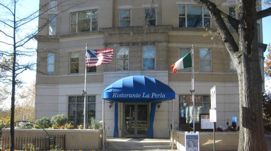 This is Ristorante La Perla of Washington DC