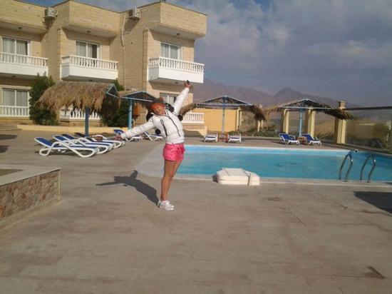 Dahab Hotel: Важно: территория отеля защищена от ветра