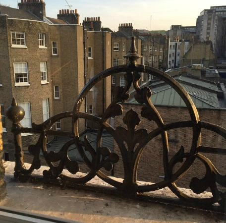 My Bloomsbury: View from room 301