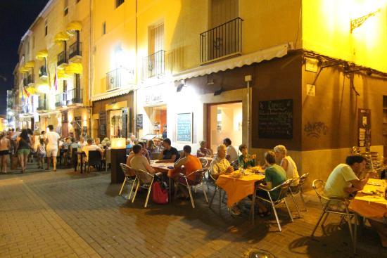 El Canto : Столики на улице