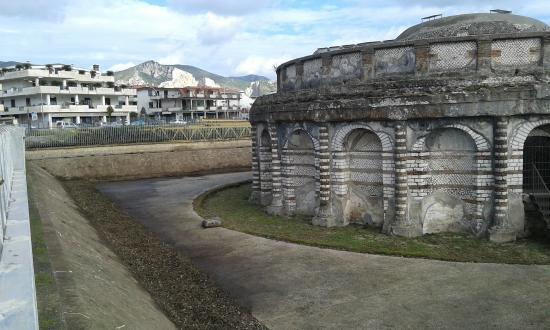 Mausoleo detto delle Carceri Vecchie: dopo la pulizia