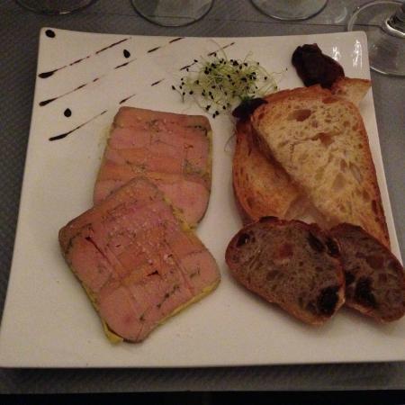 Bodega Marty : Terrine de foie gras mi-cuit maison