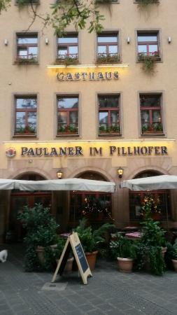 Gasthaus Pillhofer : The front