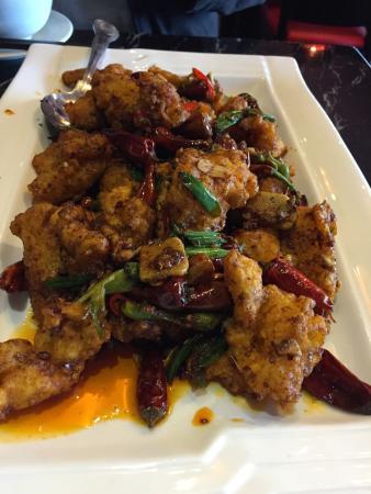 Red N Hot: Hot fish dish