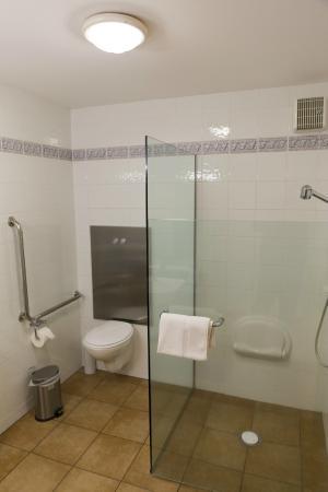 Akaroa Criterion Motel: Good shower
