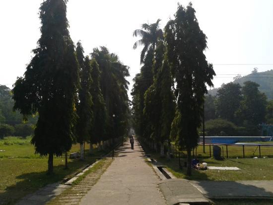 Rourkela, India: inside park