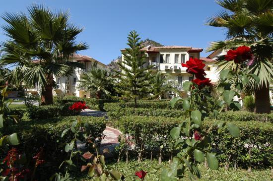 Hotel Karbelsun: garden