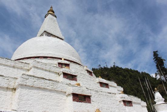 Trongsa, Bhutan: Chorten