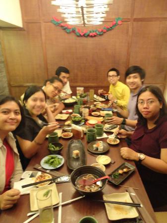 Sushi Tei - Plaza Indonesia : Lunch