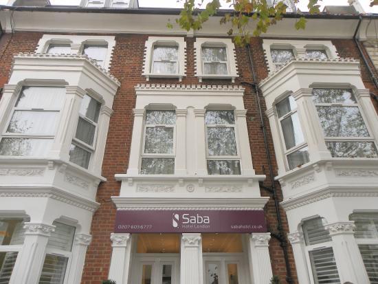 Saba Hotel London : Hotel - Vista dalla strada