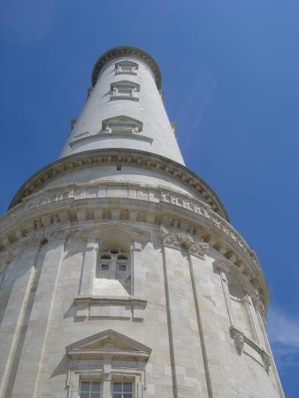 Phare de Cordouan : Au pied du phare...