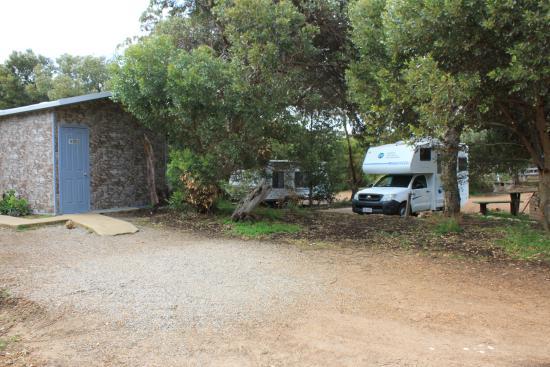 Hopetoun, Australien: Ablutions, quite new.
