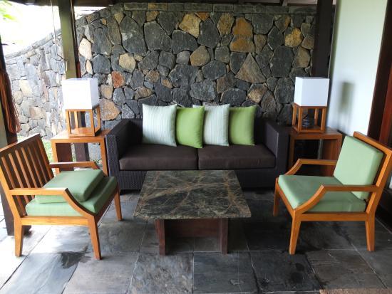 four seasons outdoor living reviews. four seasons resort mauritius at anahita: ocean villa 172 outdoor living room reviews