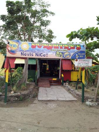 Sunshine's Beach Lounge: Entrance