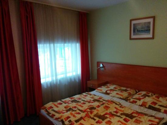 เซ็นทรอล กรีน โฮเต็ล: Double room in central green hotel