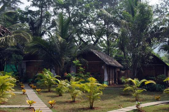 Tutti Garden Bungalows: View of rooms on the west side